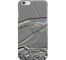 Spitfire Mk 1A aircraft embossed iPhone Case/Skin