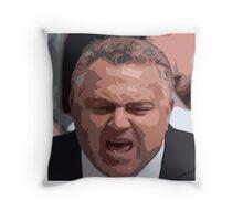 Joe Hockey stress relief pillow Throw Pillow