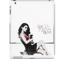 Megan _ Hell Yes! iPad Case/Skin