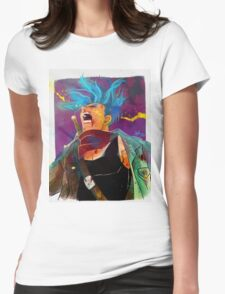 blue trunks Womens Fitted T-Shirt