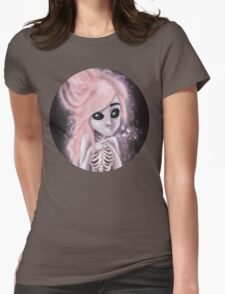 aliena skeleton Womens Fitted T-Shirt