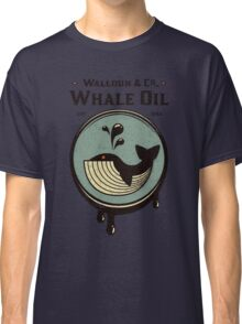 Walldun & Co Whale Oil Classic T-Shirt