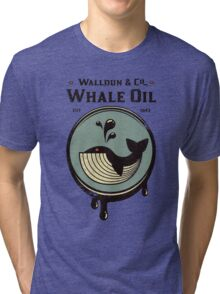 Walldun & Co Whale Oil Tri-blend T-Shirt
