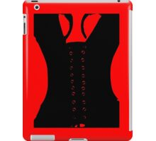 Medieval Sexy Warrior Women Costume corset  iPad Case/Skin