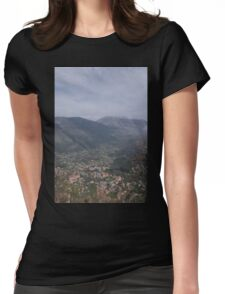 The Italian Countryside  Womens Fitted T-Shirt