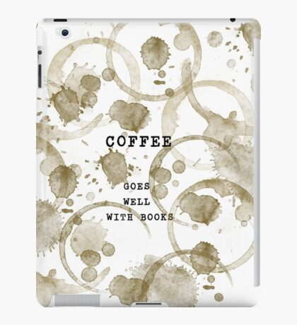 Coffee Stains v2 iPad Case/Skin