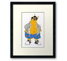 my name is earl Framed Print