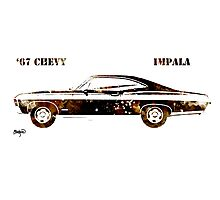 67 Chevy Impala Photographic Print