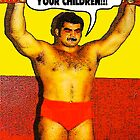 Funny Sayings - I Want to Beat Your Children by tommytidalwave