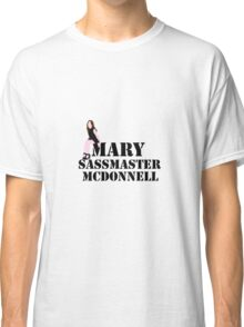 Mary sass master McDonnell Classic T-Shirt