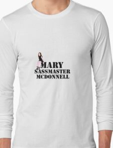 Mary sass master McDonnell Long Sleeve T-Shirt