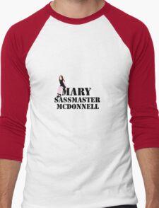 Mary sass master McDonnell Men's Baseball ¾ T-Shirt