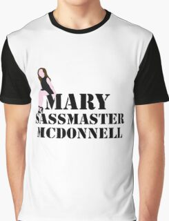 Mary sass master McDonnell Graphic T-Shirt