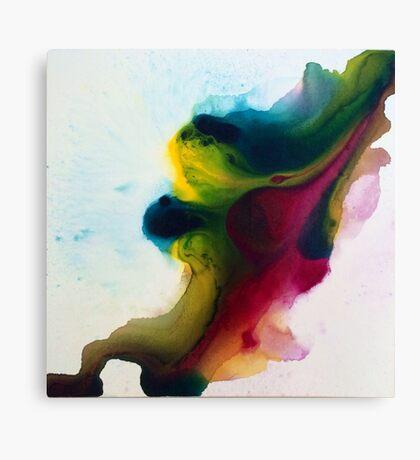 Fluid Motion 2 Designer Artwork  Canvas Print
