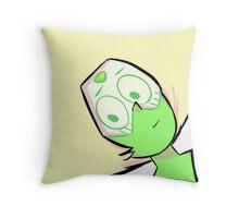 Peridot Pillow! Throw Pillow