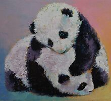 Baby Panda Rumble by Michael Creese