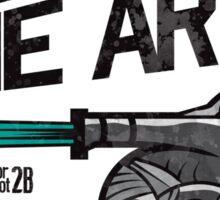 Defend The Arts! Sticker