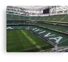 Aviva Stadium Canvas Print