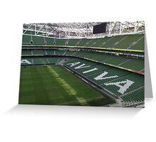 Aviva Stadium Greeting Card