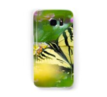 Western Tiger Swallowtail Butterfly  Samsung Galaxy Case/Skin