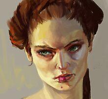 Sansa Stark by tokimonster