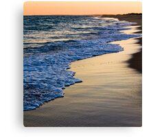 Sunset At South Beach Canvas Print