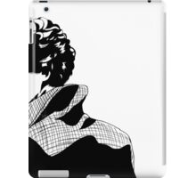Curls and a Coat iPad Case/Skin