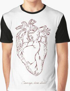 Courage, Dear Heart - Light Graphic T-Shirt