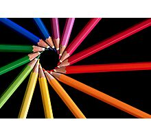 Colour Wheel Photographic Print