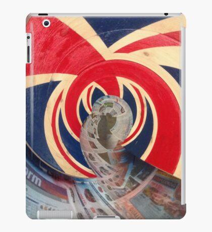 British Wave! God save the sea! iPad Case/Skin