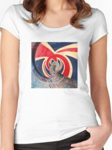 British Wave! God save the sea! Women's Fitted Scoop T-Shirt