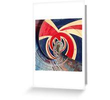 British Wave! God save the sea! Greeting Card