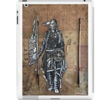 Native American with Spear iPad Case/Skin