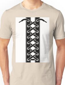 Corset lacing Unisex T-Shirt