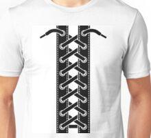 Corset lacing Unisex T-Shirt