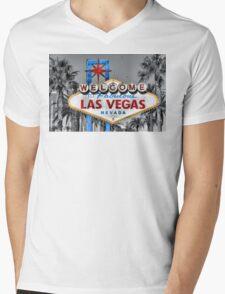 Welcome to Fabulous Las Vegas Mens V-Neck T-Shirt