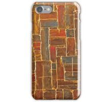 Brown and Gold iPhone Case/Skin
