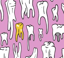 Tooth or Dare, Bold Illustration Sticker