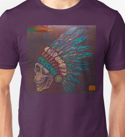 Indian skull Unisex T-Shirt