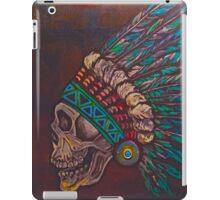 Indian skull iPad Case/Skin