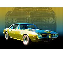 Green Firebird Photographic Print