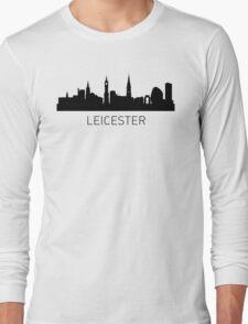 Leicester England Cityscape Long Sleeve T-Shirt