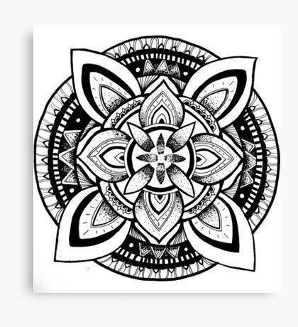 A symbol of spirituality  Canvas Print