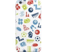 Games Pattern iPhone Case/Skin