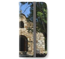 Old Fort Stanton Church (1850's) iPhone Wallet/Case/Skin