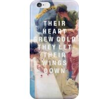 their heart grew cold iPhone Case/Skin