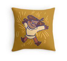 Comfy hay pillow Throw Pillow