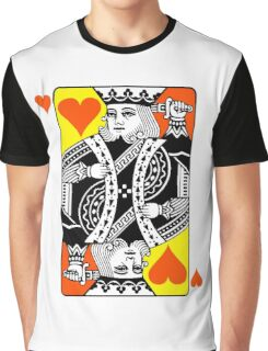KING (OF HEARTS) Graphic T-Shirt