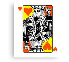 KING (OF HEARTS) Canvas Print