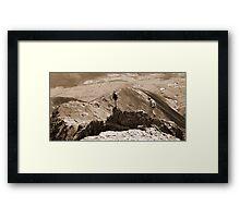 Mountain For Sale Framed Print